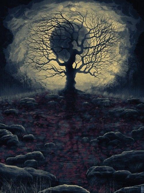 Paysages sombre - Dessin sombre ...