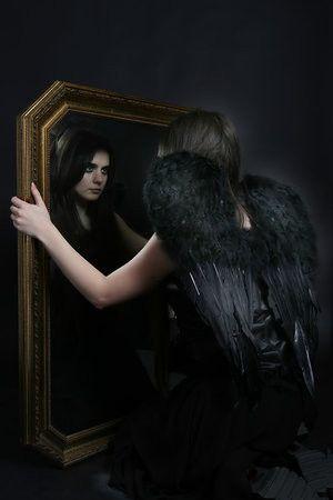 dans fond ecran ange noir 3a6b731d