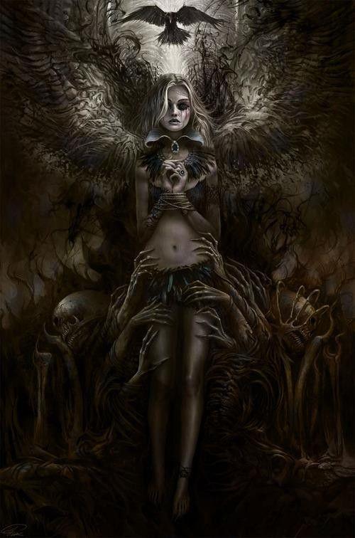 scary image of angel - photo #29