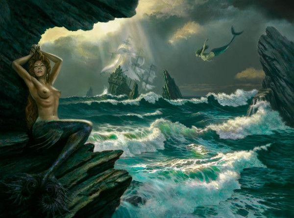 Морское дно картины