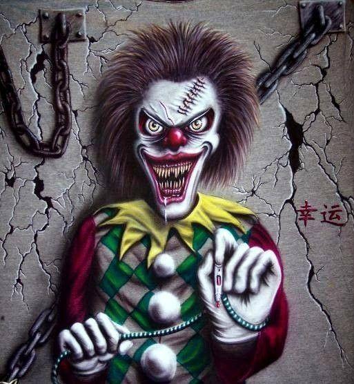 Clown Méchant A Imprimer Relaxbuddy Live