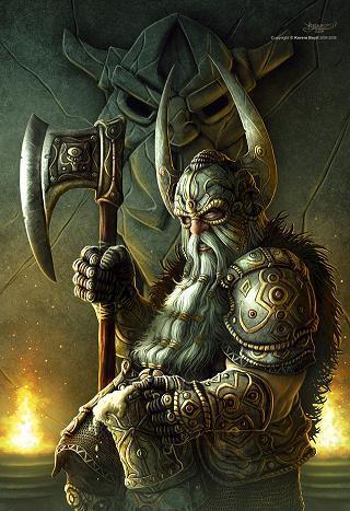Guerriers, nains, vikings...