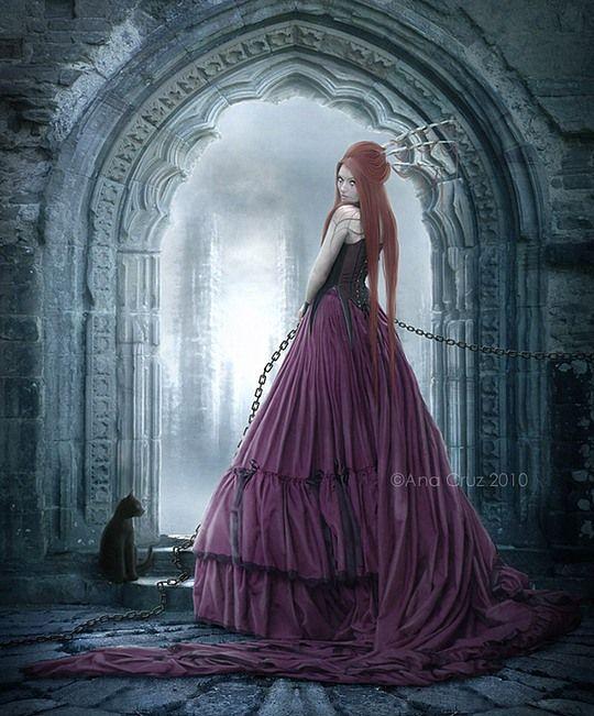 Ana cruz - Dessin gothique ...