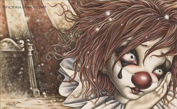 Victoria Frances clown